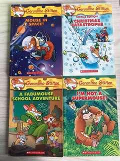 Geronimo Stilton books 📖