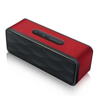 JBL similar-look Bluetooth 4.0 speaker 10watts bass leather body-GS805