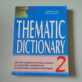 Thematic Dictionary 2