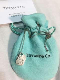 Tiffany 愛心項鍊