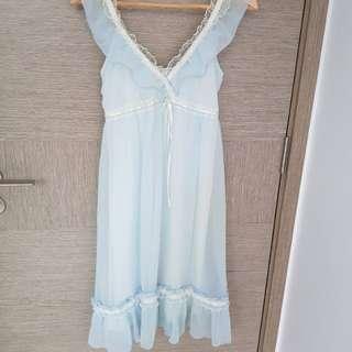 Light Blue lacy Dress