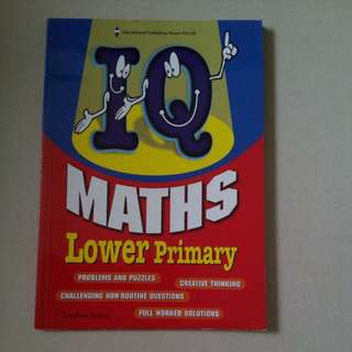 IQ Maths for Lower Primary