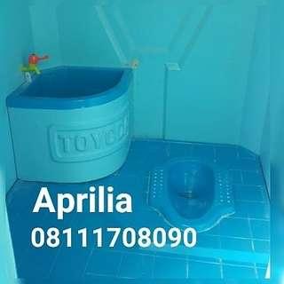 Toilet Sementara closet Jongkok type A