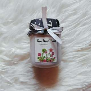 Hair Mask Santan Home Made