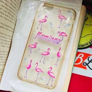 🚚 iPhone 6 火烈鳥透明殼