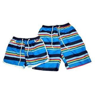 KB-25 Fashion Casual Beach wear Couple shorts (1pair)