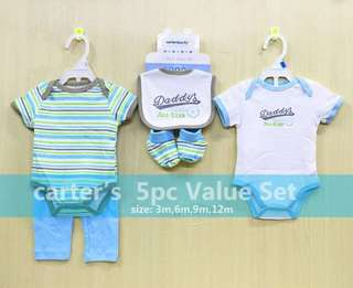 5pc Carter's Value Set for Boys