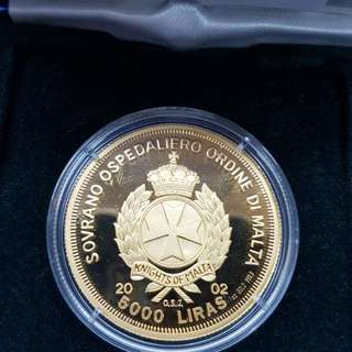 The Prince of peace commemorative coin