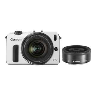 Canon EOS M Twin IS Lens Kit with Speedlite 90EX