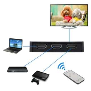 HDMI Splitter Switch With Remote ( 3 Ways )