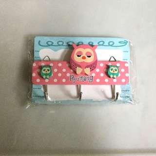 Owl hook/hanger