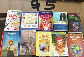 Kids books in good condition-5$ each