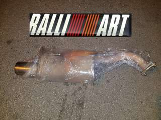 Colt Version R- Authentic Super Rare Railliart Exhaust with CERT