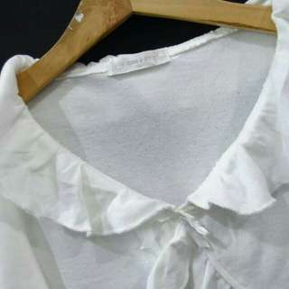 Size 130 Bolero Cardigan Outer Outwear Outerwear Luaran Baju Anak Perempuan Putih