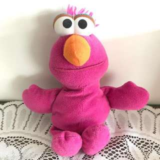 Telly Soft stuffed plush Toy Sesame Street