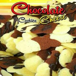 Biskut Lidah Kucing (Chocolate Cheese)