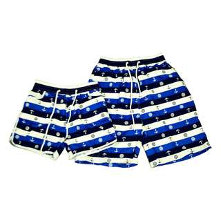 KB-28 Fashion Casual Beach wear Couple shorts (1pair)