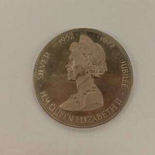 Celebrating the silver jubilee of H.M. Queen Elizabeth II medal (1952-1977)
