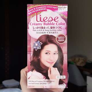 Liese raspberry brown
