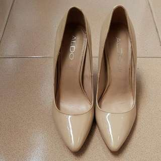 Heels aldo cream