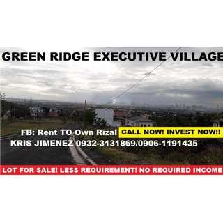 MURAng lote sa Greenridge Executve village HULUGANG upto 10TAON!! INVEST NOW!!