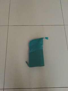 1 marshal Cavendish pencil case set and 1 turquoise pencil case