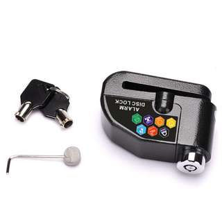 Alarm Disc Lock Anti-theft Security for Motorcycle Bicycle Scooter