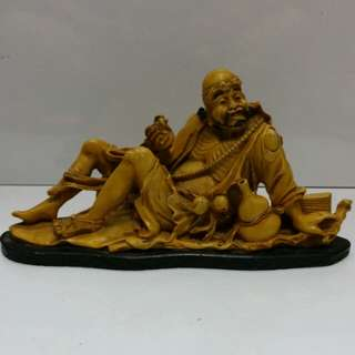 Chinese Resin make statue 'Monk'..L29xH15cm