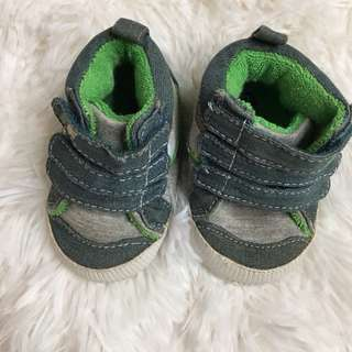 [PL] Infant baby Becool Demin Velcro shoes footwear