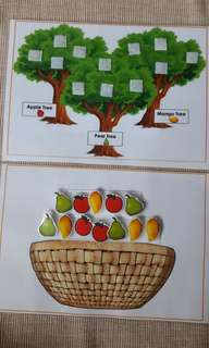 Busybook fruits sorting