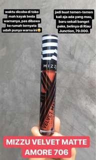 MIZZU MATTE AMORE 706