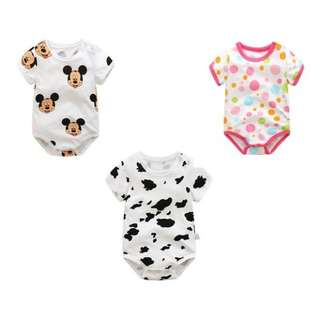 Smart Baby Jumpsuit For Newborn Rompers Infants Clothing 6-24months short sleeve