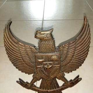 Indonesian Garuda Bronze logo