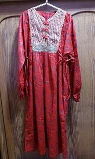🚚 韓服風 日本製 古著洋裝