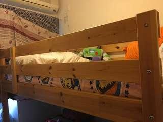 木製上下格床床架