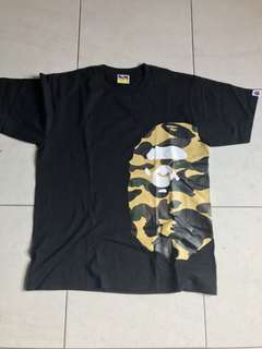 Bape t shirt sz L