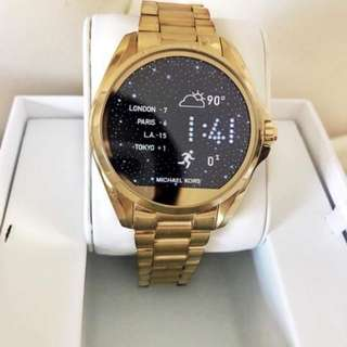 Bradshaw Gold Tone Michael Kors Smartwatch