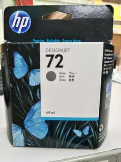 HP 72 Ink Cartridge (Grey)