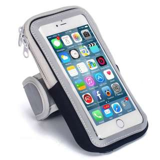 6 inch Big Capacity Sport Running Armband Holder Phone Case