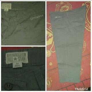 Original Converse celana 7/8