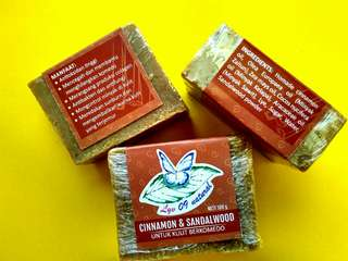Sabun kayu manis - cendana