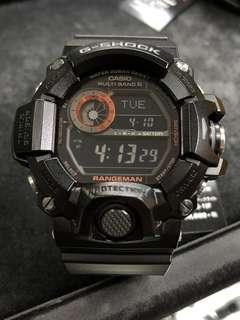 Casio G-Shock Rangeman GW-9400BJ-1 gw-9400bj-1 GW-9400 日版 貓 光面 黑