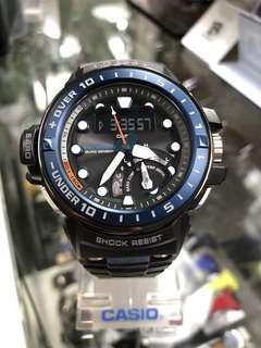Casio G-Shock Gulfmaster GWN-Q1000-1A gwn-q1000-1a GWN-Q1000 航海系列