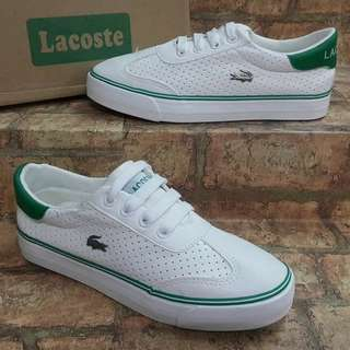 WOMEN'S LACOSTE SHOES .<>.<>.