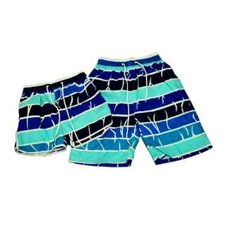 Fashion Casual Beach wear Couple shorts (1pair) KB-30