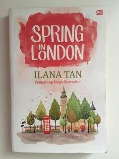 Novel Spring in London Bahasa Indonesia