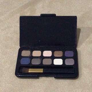 (NEW) Estee Lauder Eyeshadow Pallette + mini eye brush sample size