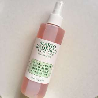 Mario Badescu facial spray aloe herbs and rosewater