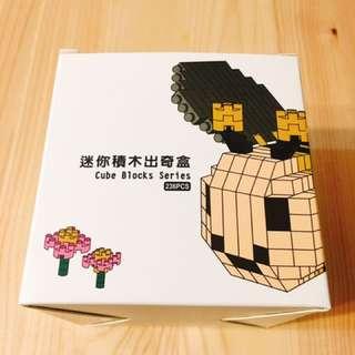 小蜜蜂積木 Bee Cube Block
