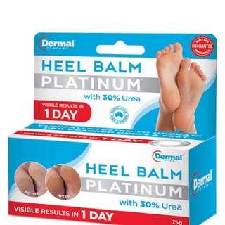 澳洲專業皮膚科醫生推介👍👍Dermal Therapy Heel Balm Platinum 75g